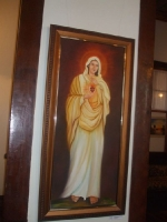 13 - Alguns quadros do Pe. Kristoforus